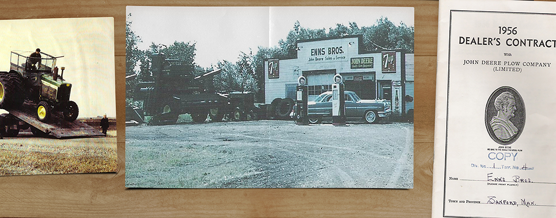 Ourstory Enns Brothers Oak Bluff Manitoba
